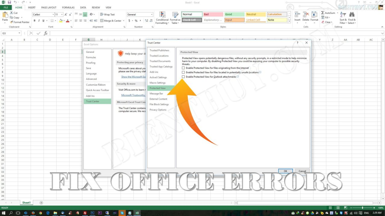excel document not saved 100490