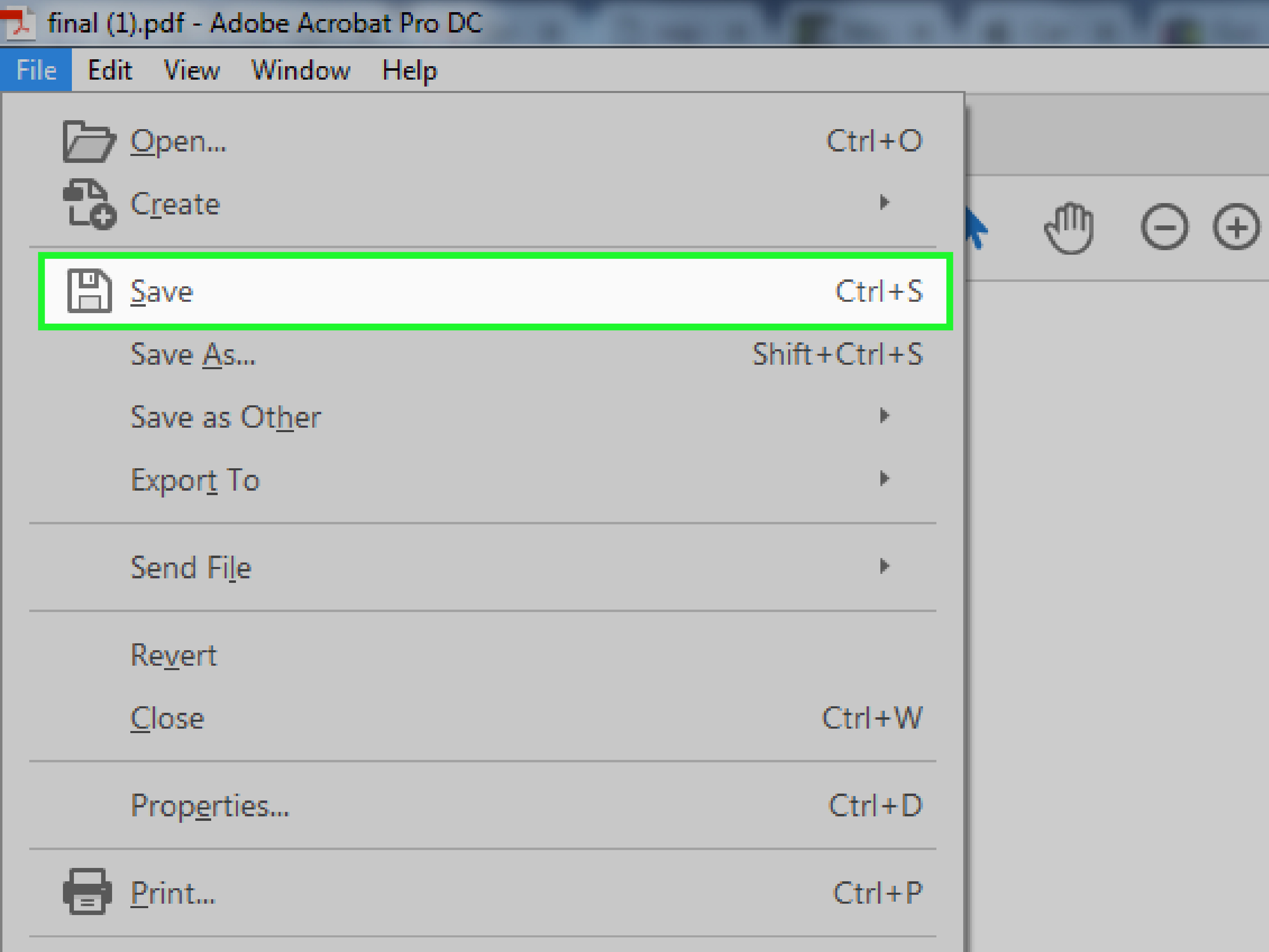 how to change a pdf document to a word document