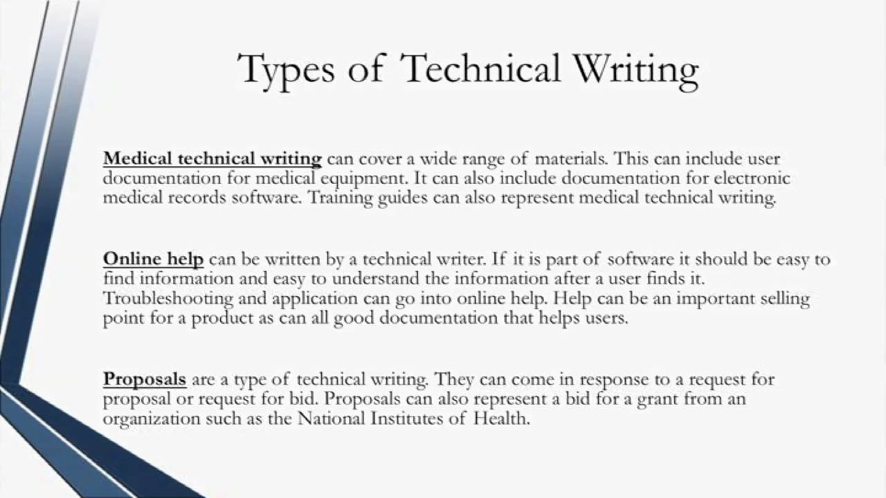 how to write technical documentation