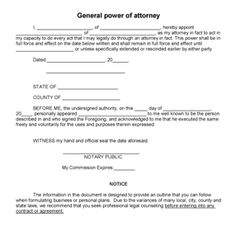 power of attornew document bc