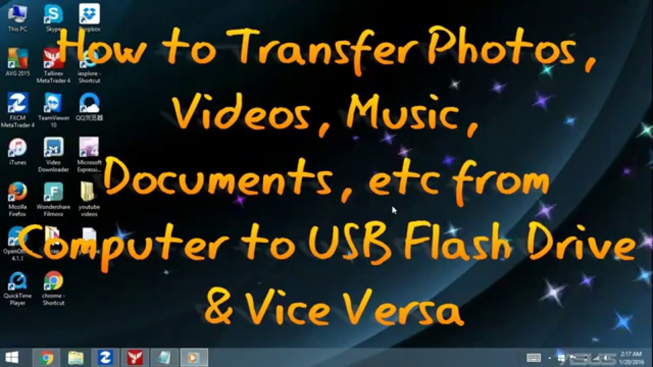 copy document to flash drive