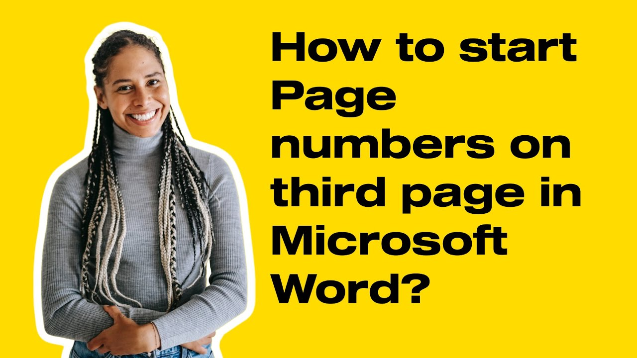 start page numbering later in your document microsoft word