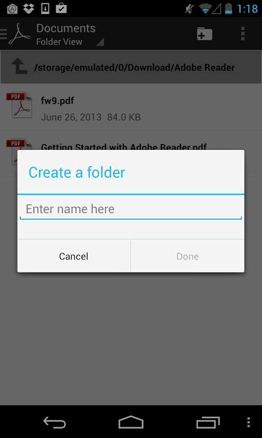 document reader app for android