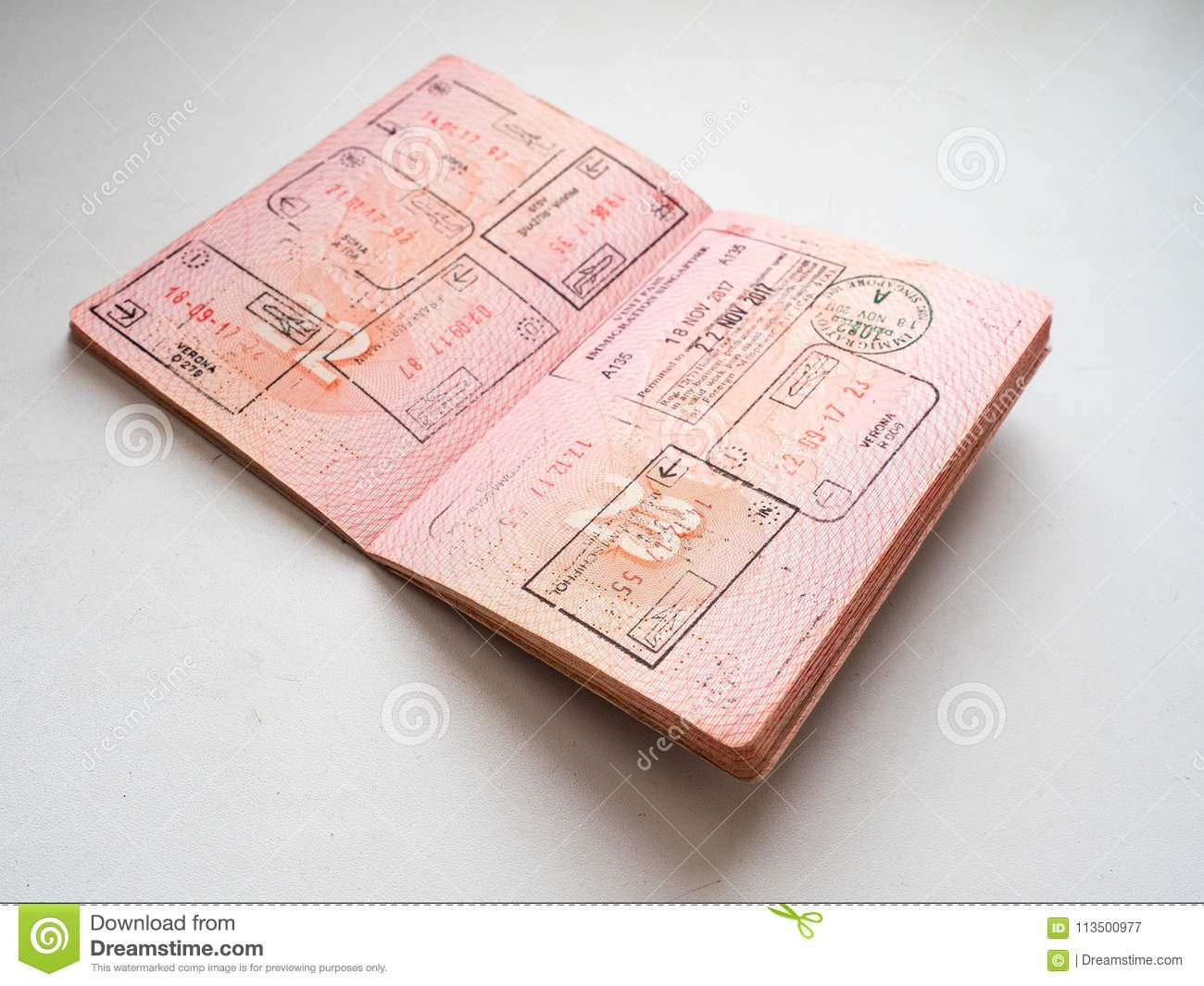 immigration document clipart black and white