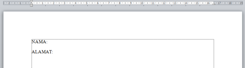 mail merge word value excel document
