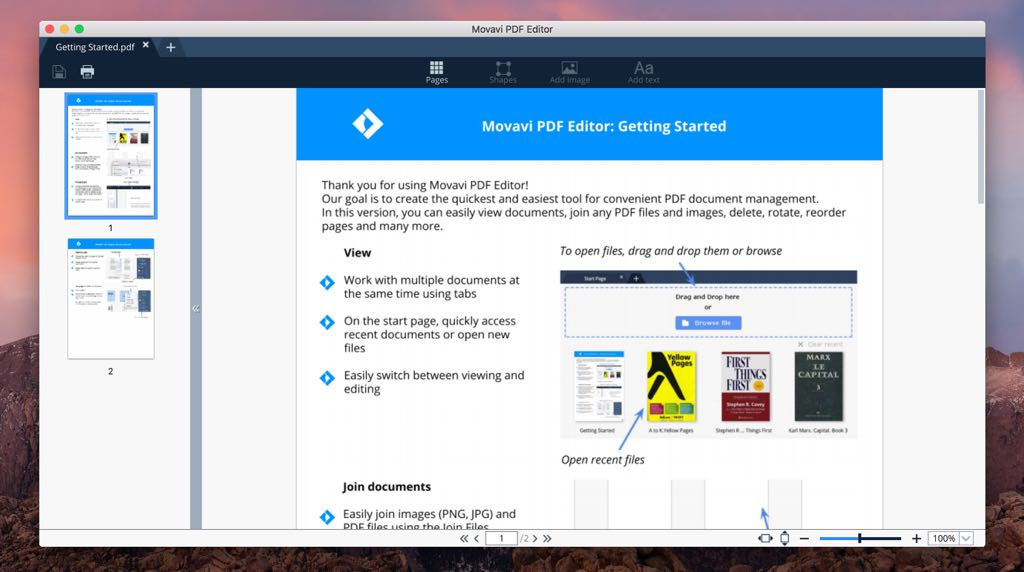 how to combine pdfs into one document mac