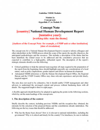 how to write a formal business document report