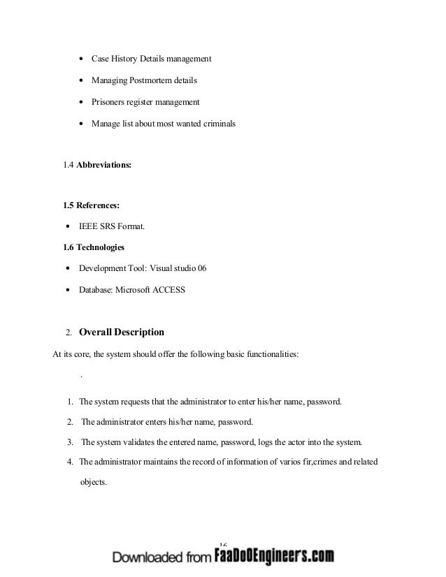 srs document for school management system in ieee format