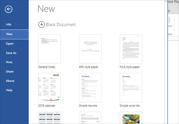 you can only create one document from a template