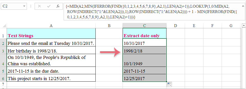 extract string from a text document in shell