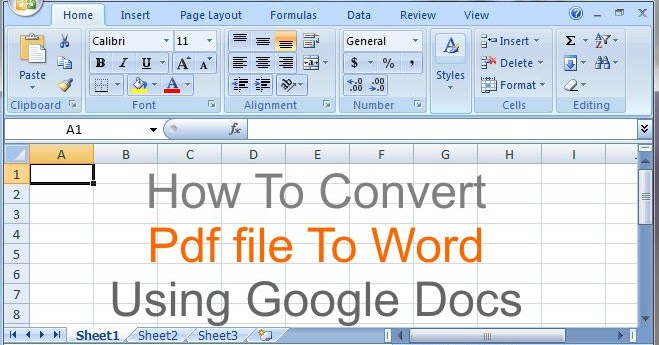 how to convert adobe document to word