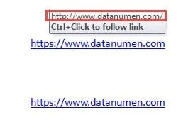 in word document how to remove hyperlink