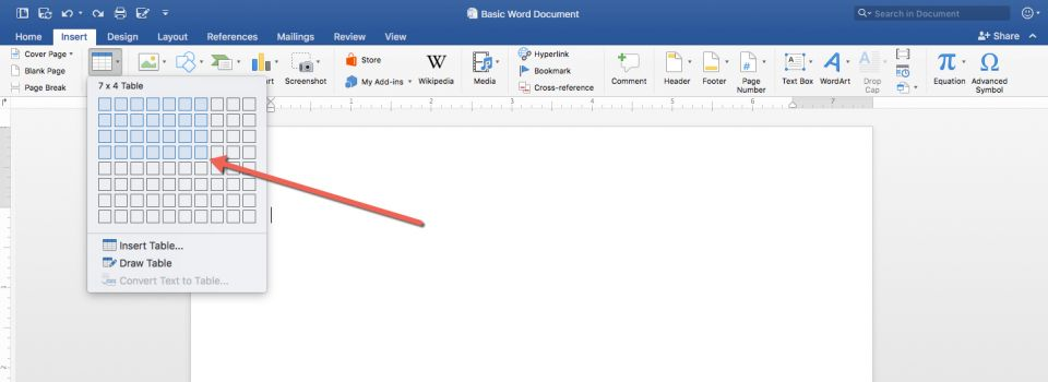 insert a word document into google excel sheets