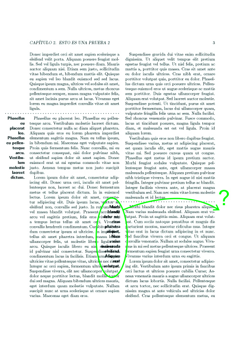 latex template two column gothic document