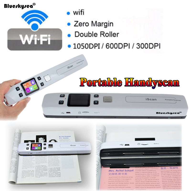 portable document and photo scanner