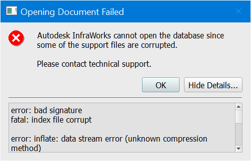 there was an error opening this document file open failed